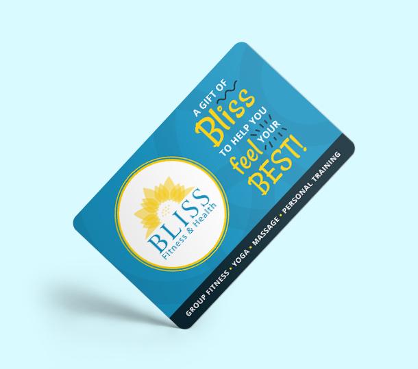 Bliss Fitness Gift Card